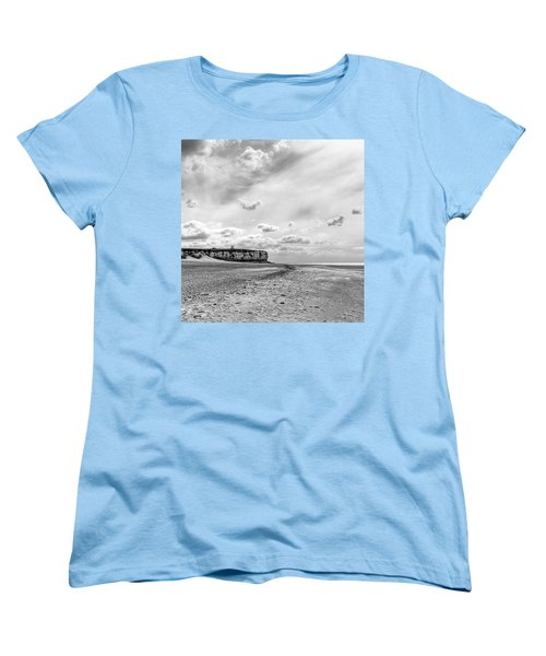 Old Hunstanton Beach, Norfolk Women's T-Shirt (Standard Cut) by John Edwards