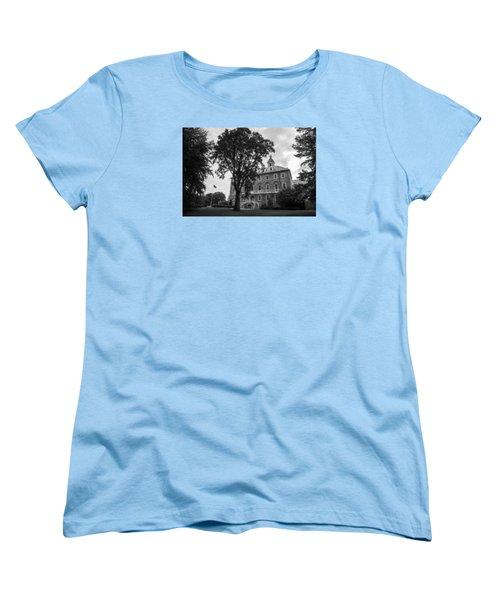 Old Main Penn State Women's T-Shirt (Standard Cut) by John McGraw