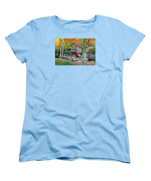 Old Mill Women's T-Shirt (Standard Cut) by Emmanuel Panagiotakis