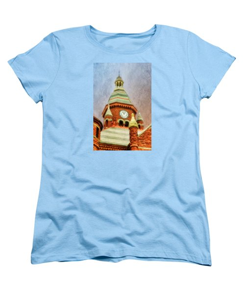 Women's T-Shirt (Standard Cut) featuring the photograph Old Red by Joan Bertucci