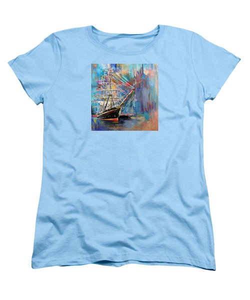 Old Ship 226 1 Women's T-Shirt (Standard Cut) by Mawra Tahreem