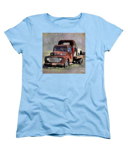 Women's T-Shirt (Standard Cut) featuring the photograph Old Trucks by Savannah Gibbs