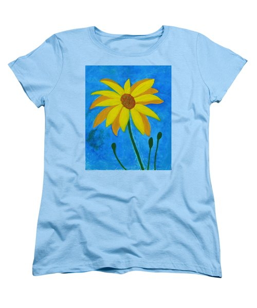 Old Yellow  Women's T-Shirt (Standard Cut) by John Scates