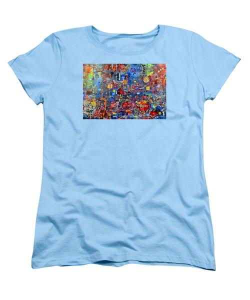 On A Chip Women's T-Shirt (Standard Cut) by Regina Valluzzi