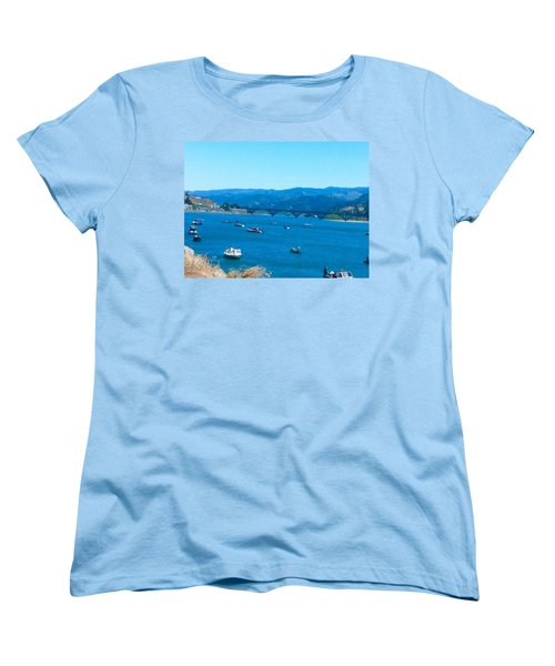 On Board For Fun  Women's T-Shirt (Standard Cut)