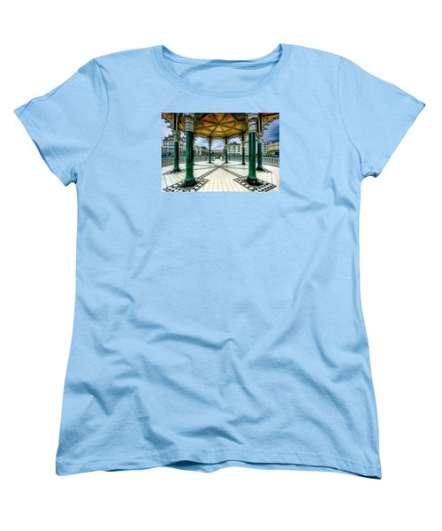 Women's T-Shirt (Standard Cut) featuring the photograph On The Bandstand by Chris Lord