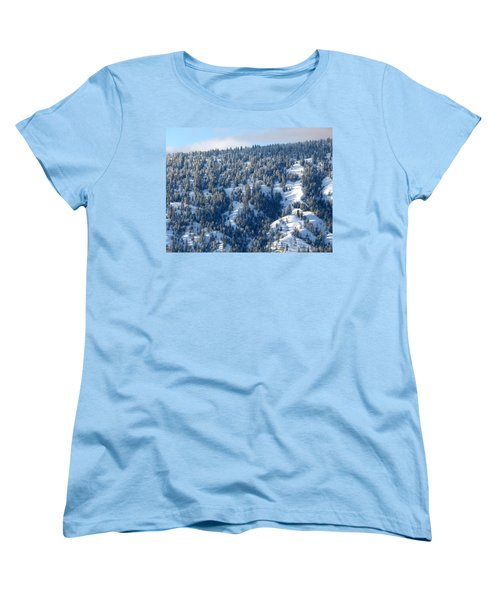 Women's T-Shirt (Standard Cut) featuring the photograph On The Far Side by Will Borden