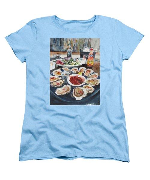On The Half Shell Women's T-Shirt (Standard Cut)