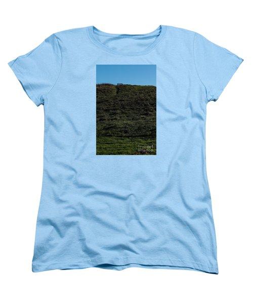 On The Hill Women's T-Shirt (Standard Cut) by Gary Bridger