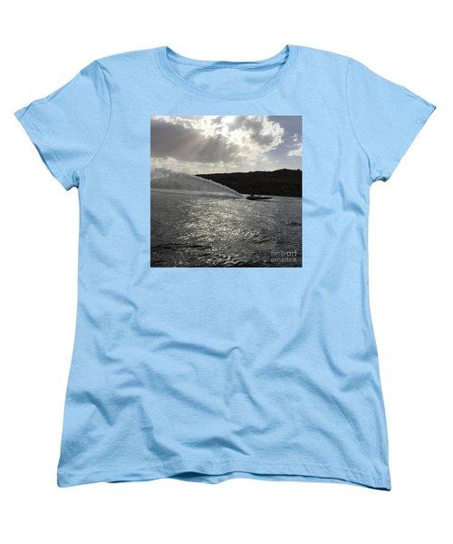 On The Lake Women's T-Shirt (Standard Cut) by Renie Rutten