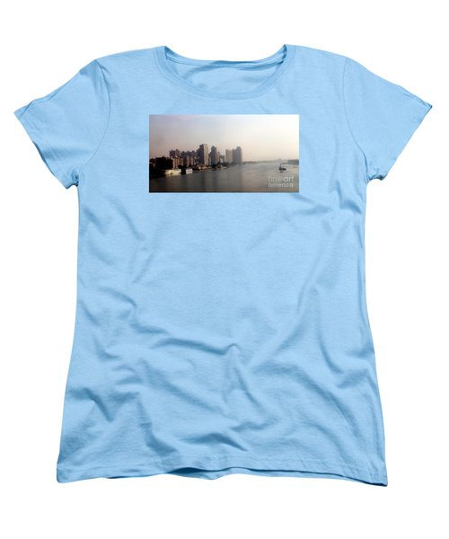 Women's T-Shirt (Standard Cut) featuring the photograph On The Nile River by Jason Sentuf