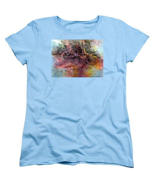 Women's T-Shirt (Standard Cut) featuring the painting On The Peninsula by Carolyn Rosenberger
