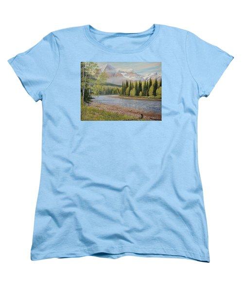 On The Riverside Women's T-Shirt (Standard Cut)