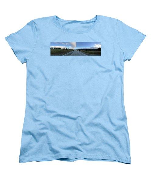 On The Road Women's T-Shirt (Standard Cut) by Alex King