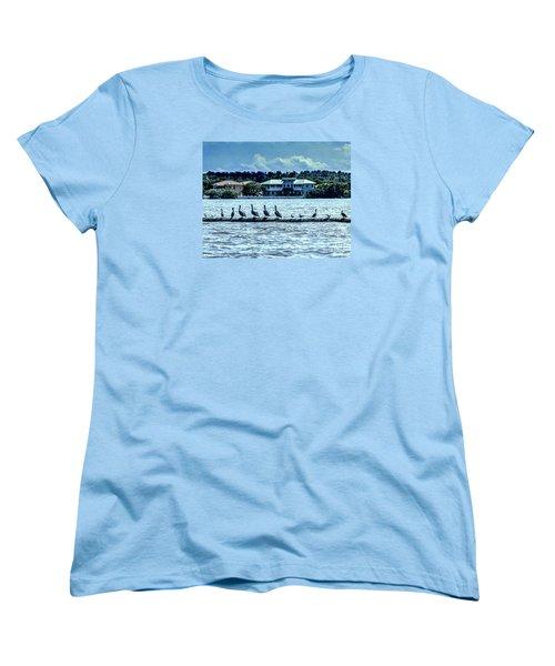 On The Water Women's T-Shirt (Standard Cut)