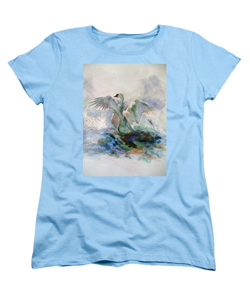 On The Water Women's T-Shirt (Standard Cut) by Khalid Saeed