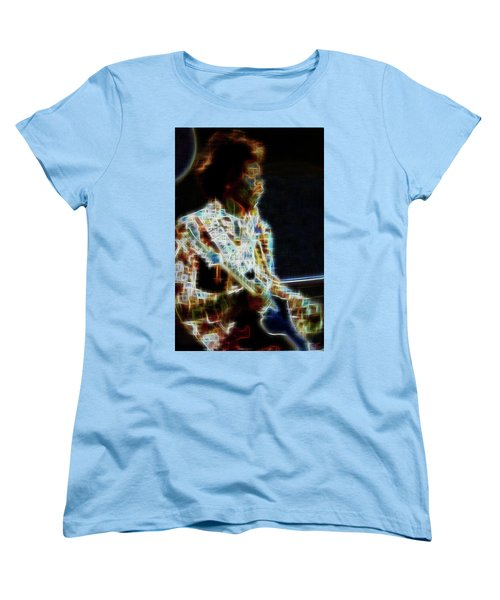 On The Wings Of Dragonflies Women's T-Shirt (Standard Cut)