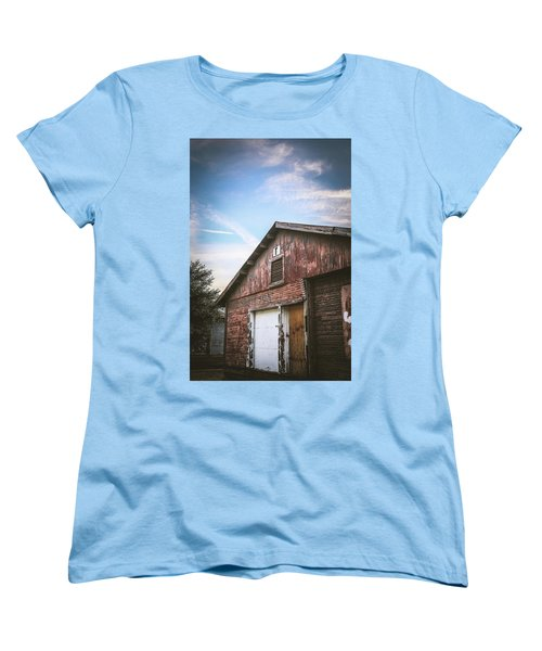 Women's T-Shirt (Standard Cut) featuring the photograph Once Industrial - Series 1 by Trish Mistric