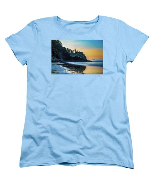 One Morning At The Beach Women's T-Shirt (Standard Cut) by Ken Stanback