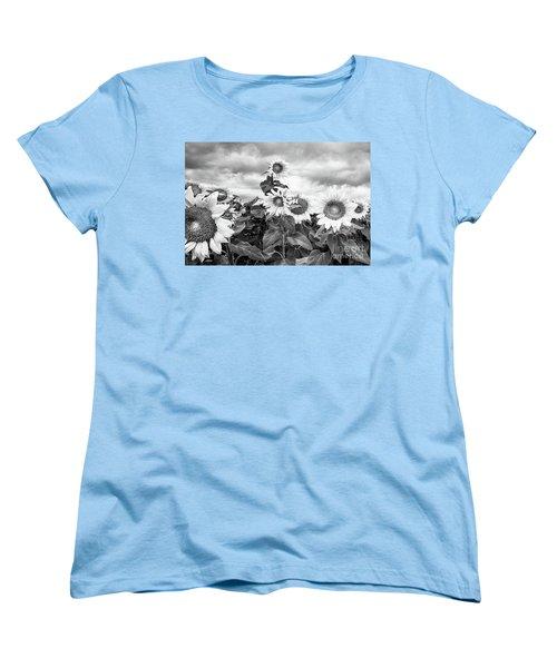 One Stands Tall Women's T-Shirt (Standard Cut) by Jim Rossol