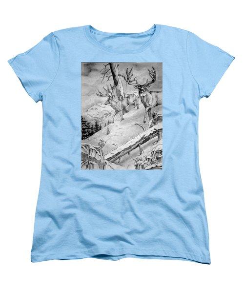Ones That Got Away Women's T-Shirt (Standard Cut) by Jimmy Smith