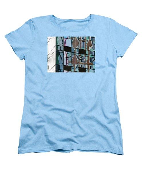 Op Art Windows I Women's T-Shirt (Standard Cut) by Marianne Campolongo