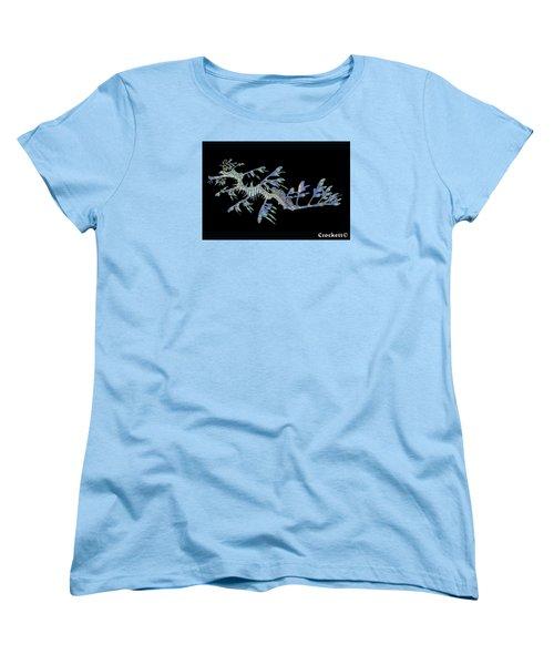 Opalised Sea Dragon Women's T-Shirt (Standard Cut) by Gary Crockett