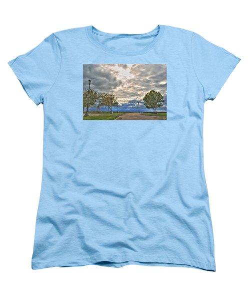 Women's T-Shirt (Standard Cut) featuring the photograph Open Heavens  by Michael Frank Jr