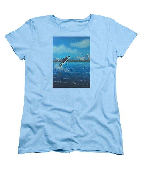 Orca Women's T-Shirt (Standard Cut)