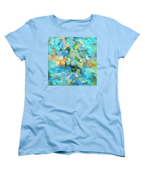 Women's T-Shirt (Standard Cut) featuring the painting Orinoco by Dominic Piperata