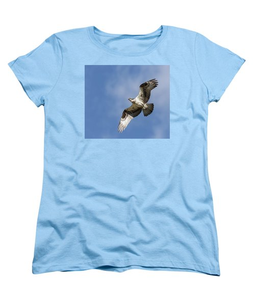 Women's T-Shirt (Standard Cut) featuring the photograph Osprey 2017-3 by Thomas Young