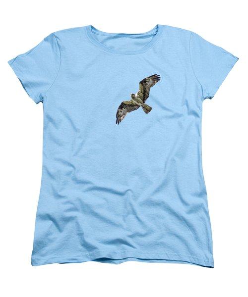 Osprey Overhead Women's T-Shirt (Standard Cut) by Nick Collins