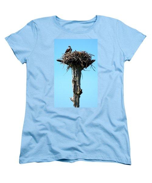Osprey Point Women's T-Shirt (Standard Cut) by Karen Wiles