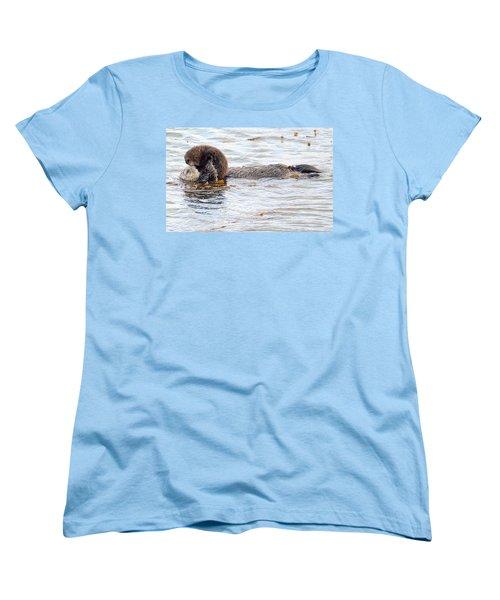 Otter Love Women's T-Shirt (Standard Cut)