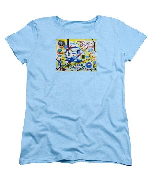 Our World Women's T-Shirt (Standard Cut) by Jose Rojas
