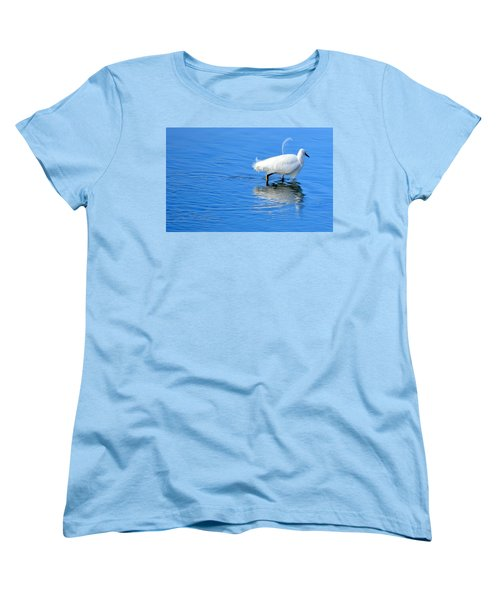Out Of Place Women's T-Shirt (Standard Cut) by AJ Schibig