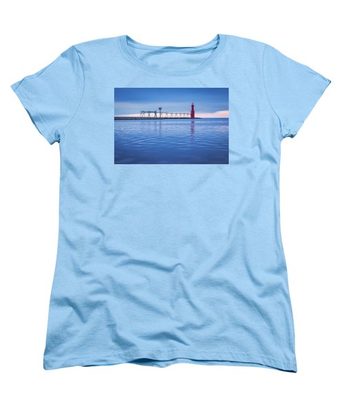 Women's T-Shirt (Standard Cut) featuring the photograph Out Of The Blue by Bill Pevlor