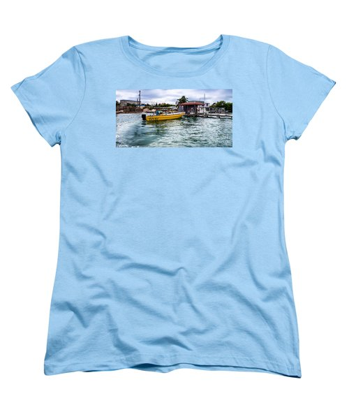 Women's T-Shirt (Standard Cut) featuring the photograph Out On Bail by Lawrence Burry