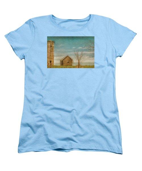 Out On The Farm Women's T-Shirt (Standard Cut) by Pamela Williams