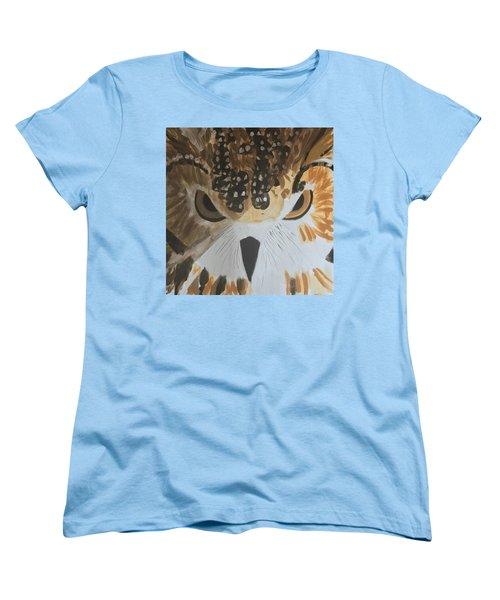 Owl Women's T-Shirt (Standard Cut) by Donald J Ryker III