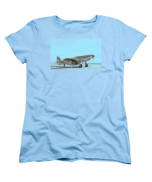 P51 Warmup Women's T-Shirt (Standard Cut)