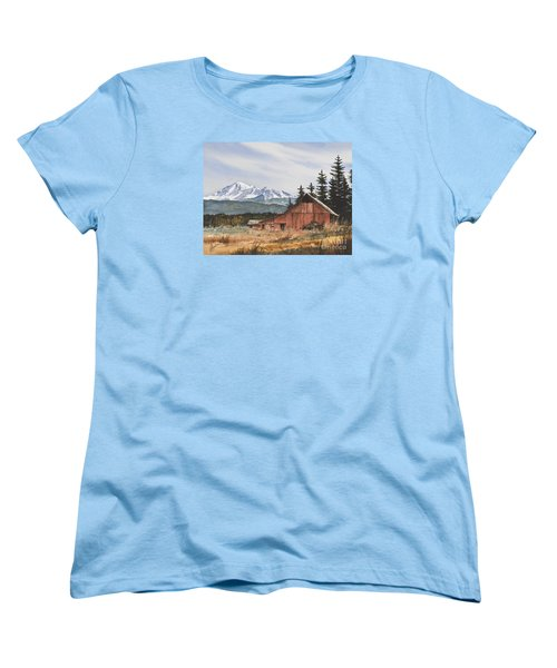Pacific Northwest Landscape Women's T-Shirt (Standard Cut) by James Williamson