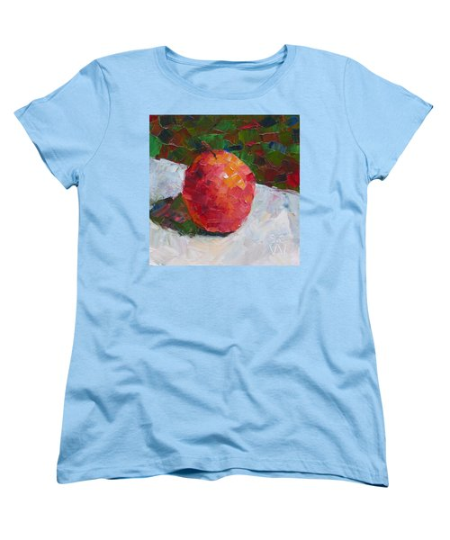Pacific Rose Bold Women's T-Shirt (Standard Cut) by Susan Woodward
