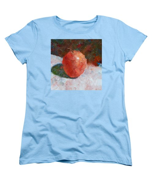 Pacific Rose Gentle Women's T-Shirt (Standard Cut) by Susan Woodward