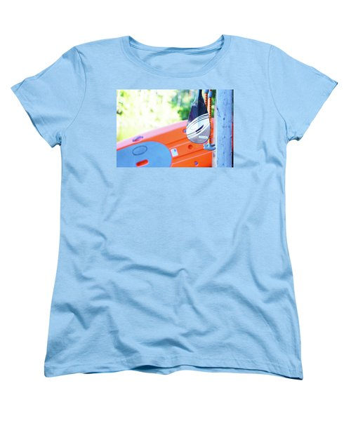 Paddle Women's T-Shirt (Standard Cut) by Angi Parks