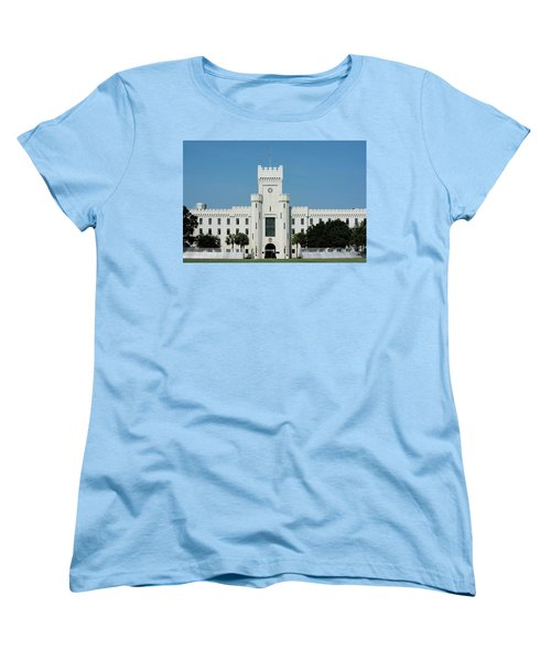 Padgett-thomas Barracks Women's T-Shirt (Standard Cut) by Ed Waldrop