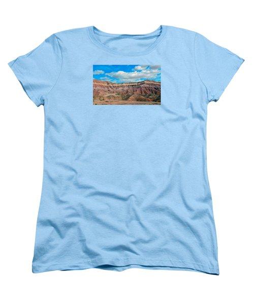 Painted Desert Women's T-Shirt (Standard Cut) by Charlotte Schafer
