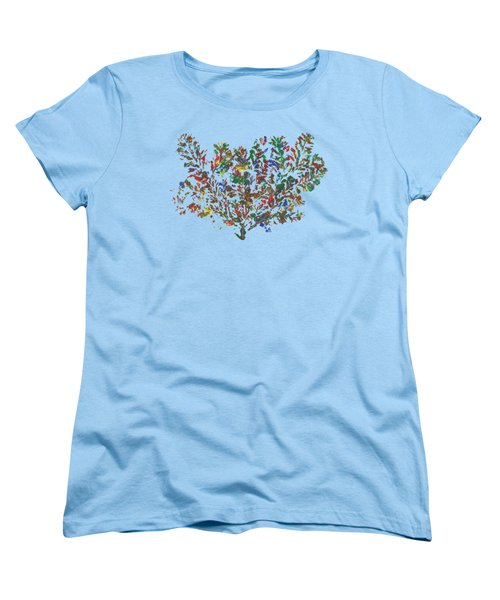 Painted Nature 2 Women's T-Shirt (Standard Cut) by Sami Tiainen