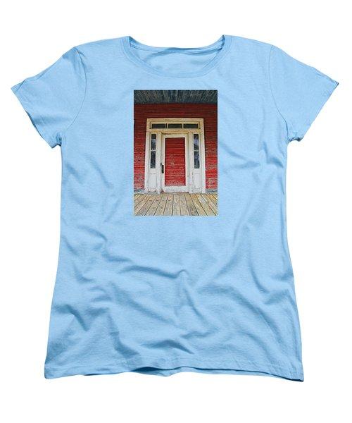 Painted Red Women's T-Shirt (Standard Cut)