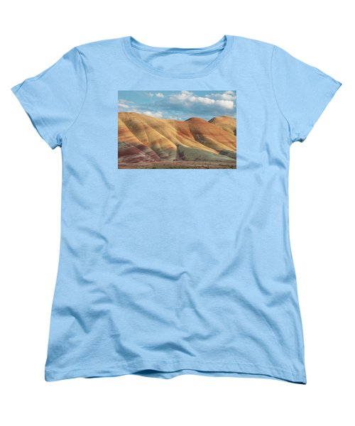 Women's T-Shirt (Standard Cut) featuring the photograph Painted Ridge And Sky by Greg Nyquist